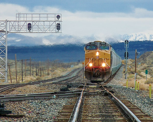 Our rail network stretches across the U.S., Canada, and Mexico